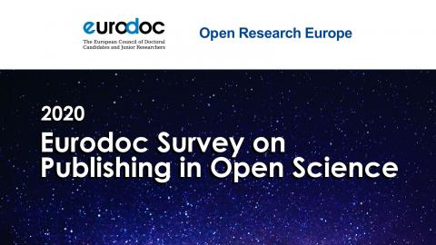Eurodoc Survey on Publishing in Open Science 2020